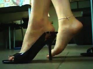 High Heels und Schuhspiel