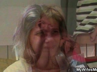 ihr Fett Mutter mit ihrem Ehemann ficken