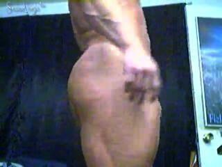 Bodybuilder caesar Dildo Fahrt