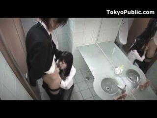 hidden cam japanisches Mädchen, das öffentliche Gesicht