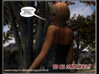 3D-Comic: die wandernde Prinzessin. Episoden 1-2