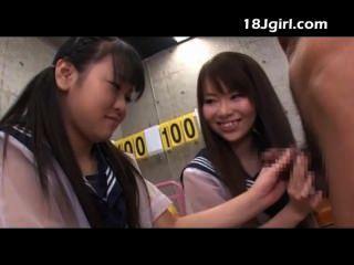 zwei asiatische Schul