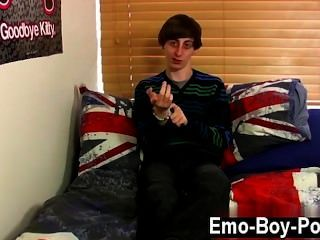 Homosexuell Sex dünn emo boy ethan Nacht ist eigentlich zu seinem Freund verlobt,