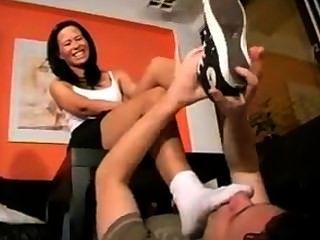 Socke Verlangen Fußbank Slave