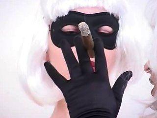 mehr Zigarre Rauchen Fetisch knick
