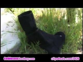 Socken und Füße