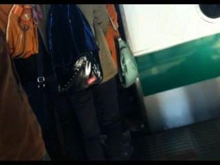echte Gropers im japanischen Zug 1