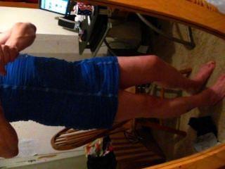 blauen Kleid 1