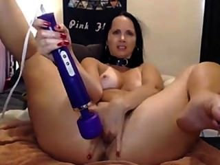 flexible Mädchen - fack hitachi in Muschi