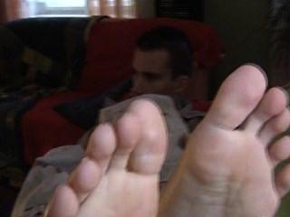 petr-Füße eines Mannes