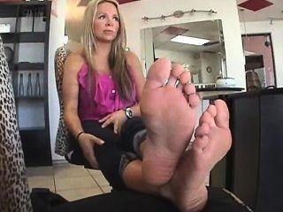Füße Fetisch Küken