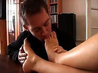 französisch Prinzessin und der Fußsklaven
