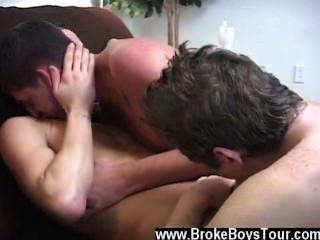 erstaunlich Homosexuell Szene am geraden Kerl hämmerte donk Austin nahm
