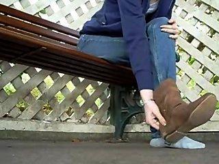 Stiefel entfernen