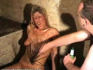 Müll Mädchen schmutzige Demütigung und bizarr bdsm schmutziger Slaveslut