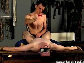 erstaunlich Homosexuell Szene wanked und die gewachste