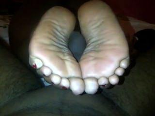 dicke Füße Ebenholz