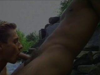 dan Trichter und Tom Farrell heißen Sex am Pool