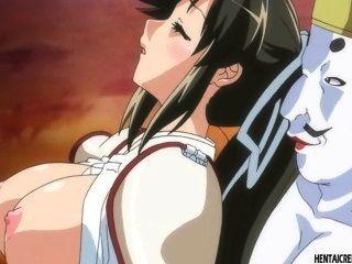 gefangen Hentai Mädchen wird brutal gefickt