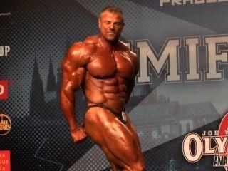musclebull glänzend posers grau