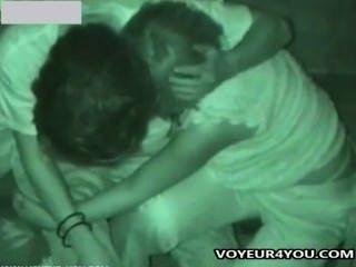 Late-Night-Sex in der Öffentlichkeit Voyeur