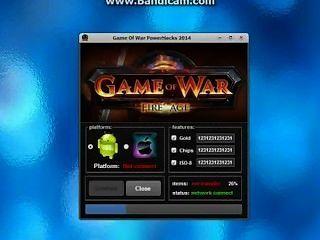 Spiel des Krieges Feuer Alter Hack keine Umfrage 2014 - unbegrenzt Gold