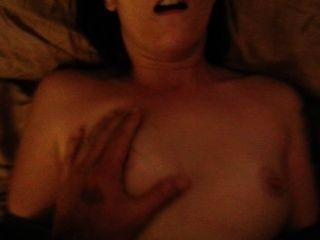 Amateur Paar Sex nach einer Penispumpe mit einer Gesichts Ende mit