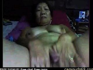 asiatische Amateur Oma auf Cam Voyeur Sex cam cam