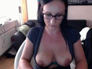sexy Mädchen in Webcam