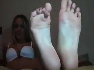 neugierig cristine Fuß necken joi