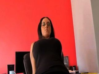 ass smothering facesittien schwarz Leggins