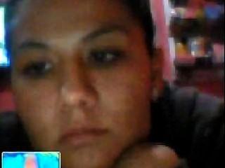 mexikanisches Mädchen, das meinen Schwanz