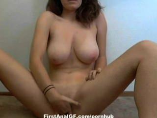 Webcam gf ihren engen Arsch fingern
