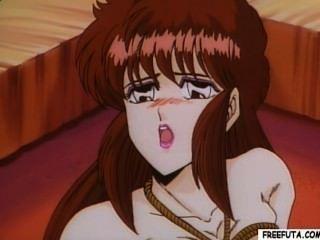Hentai Transen ficken und bekommt den Kopf