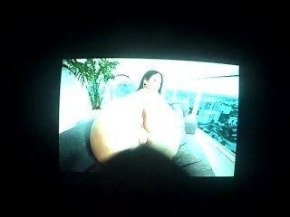 hot Ruckeln auf dieser sexy big fat ass latina chick