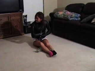 Trish schwarz Zwangsjacke Herausforderung