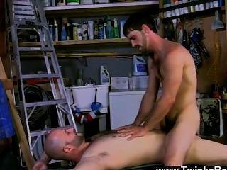 heißen Homosexuell Joe ist ein richtiger Mann, und David wird auf jeden Fall auf, dass aus