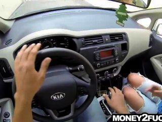 erstaunlich sexy Teenager auf der Straße angeboten Geld zu ficken
