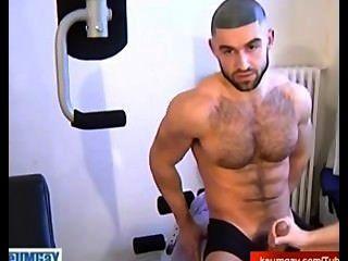 gerade hot arab Kerl wichst für Homosexuell Männer aus
