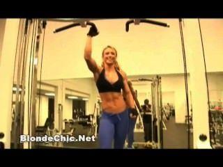 sexy weibliche Muskel Liebhaber Video 12