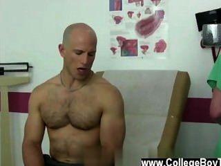 Homosexuell Clip Maddox von Trainer verwendet und d meinen Schlund, als er knallte und gab mir