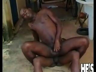 zwei schwarze Homosexuell Jungs ein bisschen Spaß