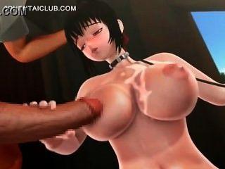vollbusige hentai chick tittyfucked bekommen