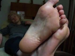 riechen meine Füße kitschig!