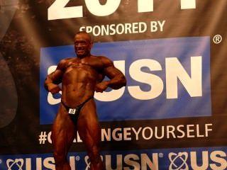 muscledad maurice Felstead - Herren über 40 - NABBA Universum 2014