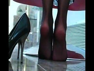 klassische Crissy Moran Füße joi