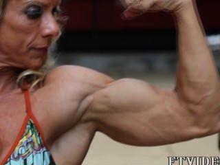 weibliche Muskel