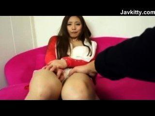 ihre japanische Muschi ist so nass