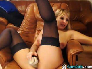 riesige Titties blonde MILF Hottie