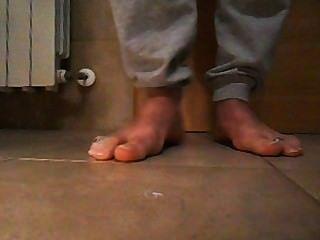 meine männliche Füße & Planschen